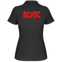 ������� �������� ���� AC/DC Red Logo - FatLine