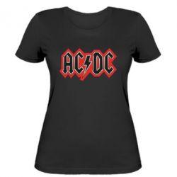 Женская футболка AC/DC Vintage - FatLine