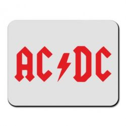 Килимок для миші AC DC - FatLine