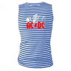 Майка-тільняшка AC DC - FatLine