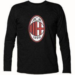 Футболка с длинным рукавом AC Milan - FatLine