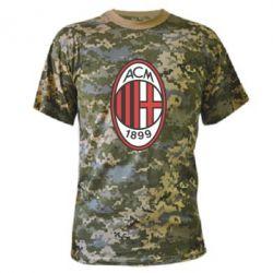 Камуфляжная футболка AC Milan - FatLine