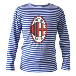 Тельняшка с длинным рукавом AC Milan - FatLine