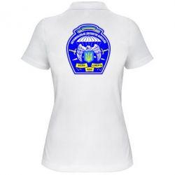 Женская футболка поло Аеромобільні десантні війська - FatLine