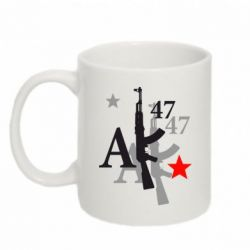 Кружка 320ml AK-47 - FatLine