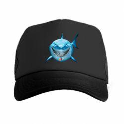 Кепка-тракер Акула улыбается