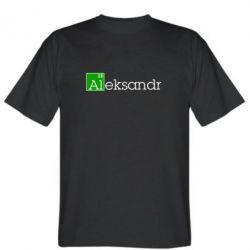 Мужская футболка Alexandr - FatLine