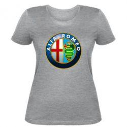 Женская футболка ALFA ROMEO - FatLine