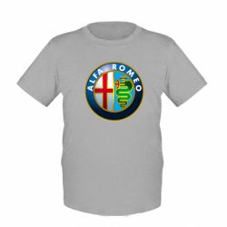 Детская футболка ALFA ROMEO - FatLine