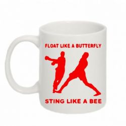 Кружка 320ml Ali: Float Like A Butterfly - FatLine