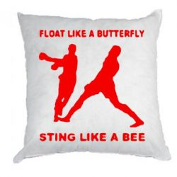 Подушка Ali: Float Like A Butterfly - FatLine