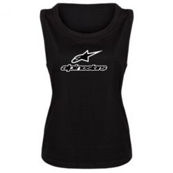Майка жіноча Alpinestar Logo