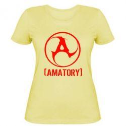 Женская футболка Amatory - FatLine