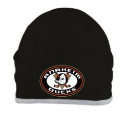 Шапка Anaheim Ducks Logo - FatLine