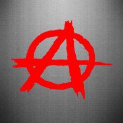 Наклейка Anarchy - FatLine