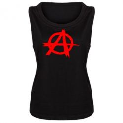 Женская майка Anarchy - FatLine