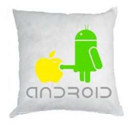 Подушка Android fuck Apple