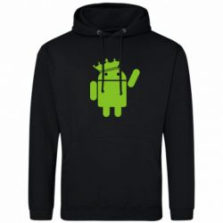 Толстовка Android King - FatLine