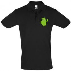 Футболка Поло Android King