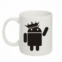 Кружка 320ml Android King