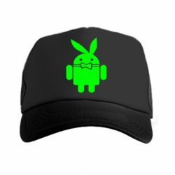 Кепка-тракер Android Playboy - FatLine
