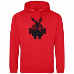 Толстовка Android Playboy - FatLine