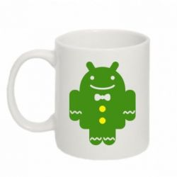 Кружка 320ml Android в костюме - FatLine