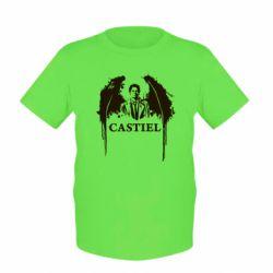 Детская футболка Ангел Кастиэль - FatLine