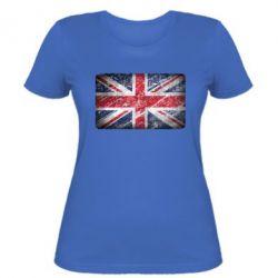 Женская футболка Англия - FatLine