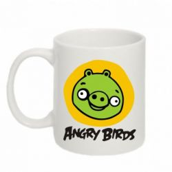 Кружка 320ml Angry Birds Pig - FatLine
