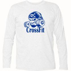 Футболка с длинным рукавом Angry CrossFit - FatLine