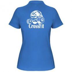 Женская футболка поло Angry CrossFit - FatLine
