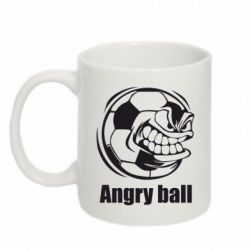 Кружка 320ml Angry Football - FatLine