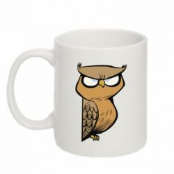 Кружка 320ml Angry owl - FatLine