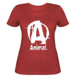 Женская футболка Animal - FatLine