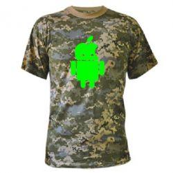 Камуфляжная футболка Apdroid - FatLine