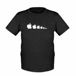 Детская футболка Apple Evolution - FatLine