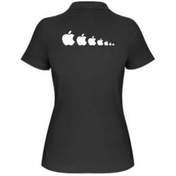 Женская футболка поло Apple Evolution - FatLine