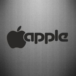 Наклейка Apple Inc - FatLine