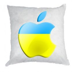 Подушка Apple Ukraine - FatLine