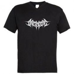 Мужская футболка  с V-образным вырезом Archspire - FatLine