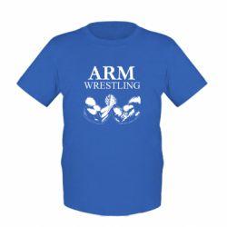 Детская футболка Arm Wrestling - FatLine