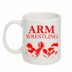 Кружка 320ml Arm Wrestling - FatLine