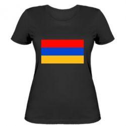 Женская футболка Армения - FatLine
