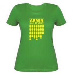 Женская футболка Armin Van Buuren Trance - FatLine