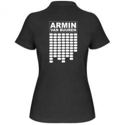 Женская футболка поло Armin Van Buuren Trance - FatLine