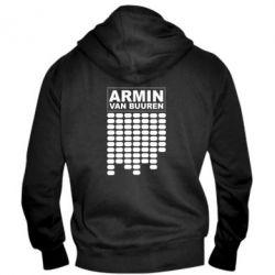 Мужская толстовка на молнии Armin Van Buuren Trance - FatLine