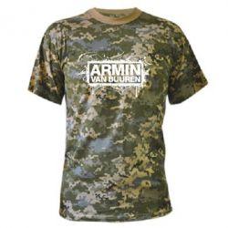 Камуфляжная футболка Armin Van Buuren - FatLine