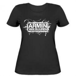 Женская футболка Armin Van Buuren - FatLine