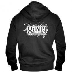 Мужская толстовка на молнии Armin Van Buuren - FatLine